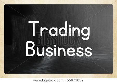Trading Business Concept