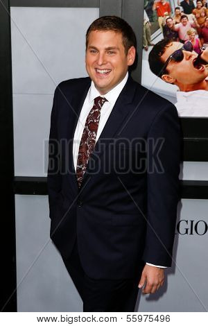 NEW YORK-DEC 17: Actor Jonah Hill attends the premiere of