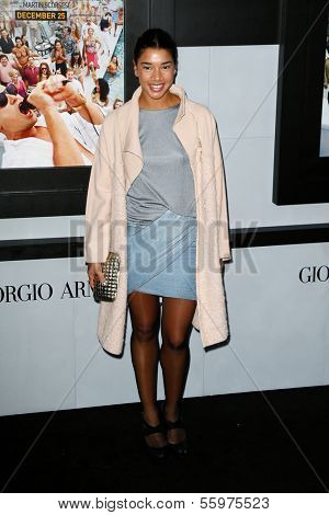 NEW YORK-DEC 17: Socialite Hannah Bronfman attends the premiere of