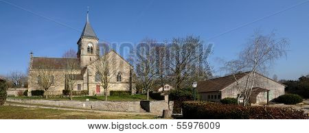Church Of Fremainville In Val D Oise