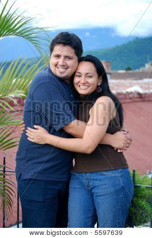 Young Hispanic Couple