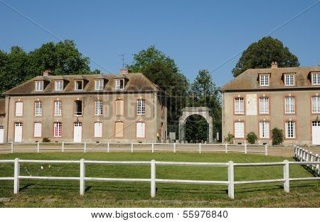 France, La Bergerie Nationale In Rambouillet