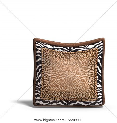 Pillow With Safari Design