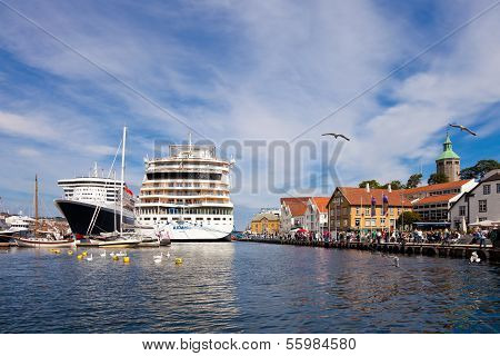 Port Of Stavanger, Norway.