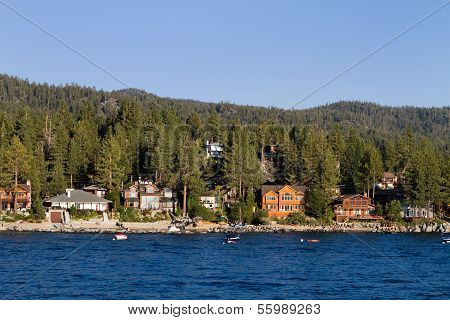 Lake Tahoe Waterfront Homes