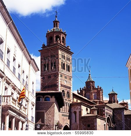 Cathedral bell tower, Teruel, Spain.