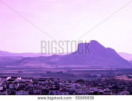 Lovers mountain, Antequera, Spain.