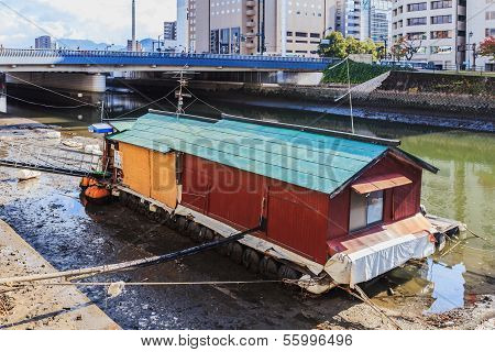 Boathouse in Hiroshima