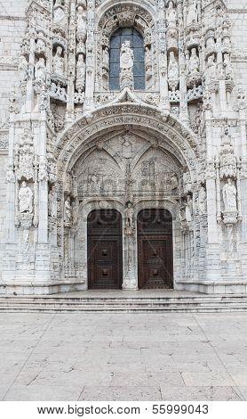 Mosteiro Dos Jeronimos In Lisbon