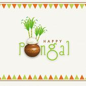 stock photo of pongal  - Happy Pongal - JPG