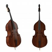 foto of double-bass  - Contrabass - JPG