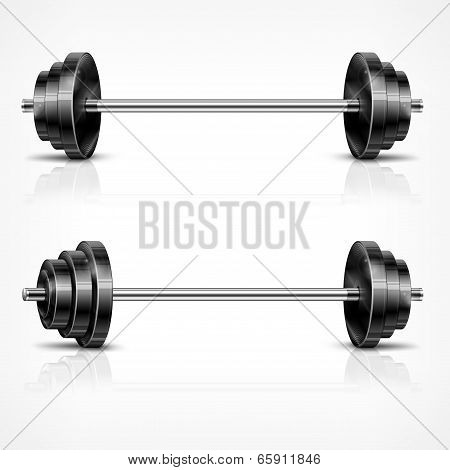 Metallic Barbells