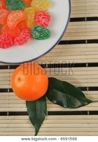 Colorful Jelly Candies