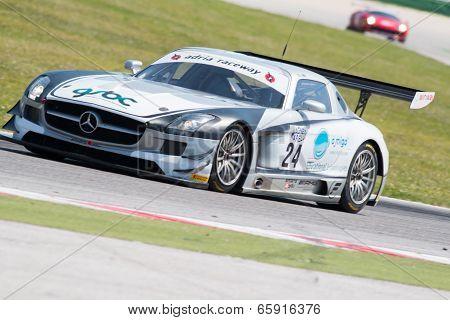 Mercedes Slm Agm Gt3 Race Car