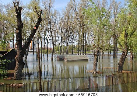 Flood in Hungary