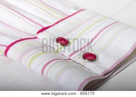a sleeve of a shirt