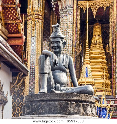 Hermit Doctor On A Pillar In The Grand Palace