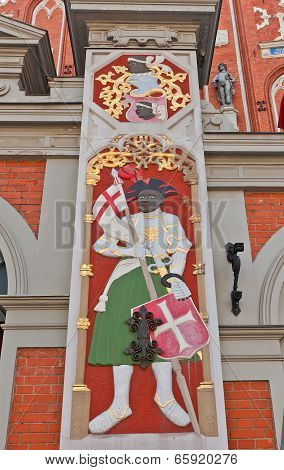 Saint Maurice. House Of Blackheads, Riga, Latvia