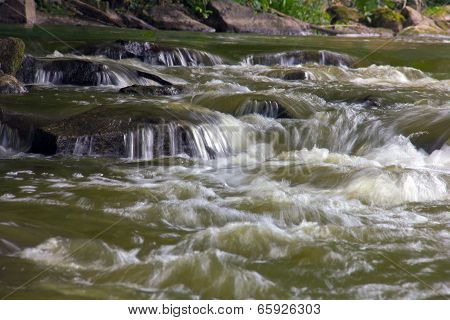 Falling Blurred Water