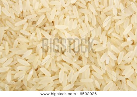 White rice background