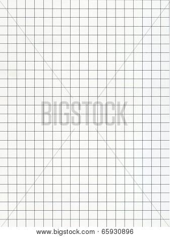 Squared Graph Paper Black Lines