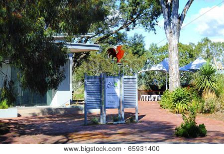 Barossa Valley, South Australia – May 29, 2014: Entrance To Maggie Beer's Pheasant Farm Farm Shop, R