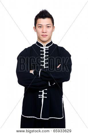 Professional chinese kung fu teacher