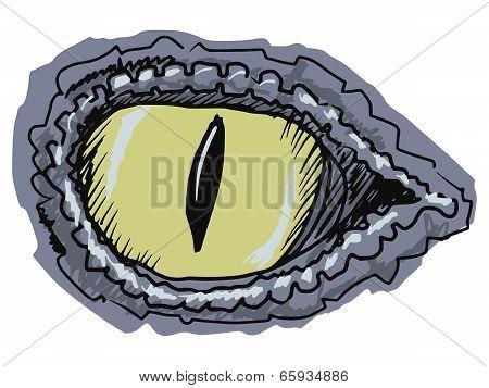 Eye Of Crocodile