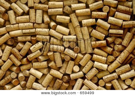 Lot Of Wine Corks