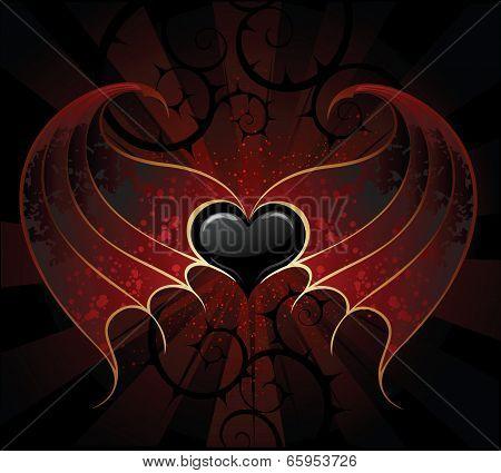 Gothic Vampire Heart