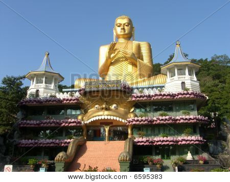 Shri-lanka, The Buddistsky Gold Temple