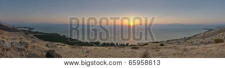 Galilee At Sunset (panorama)