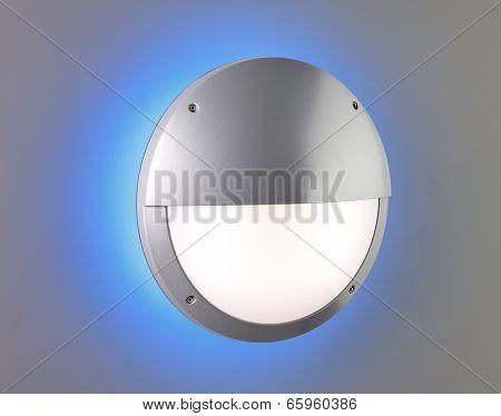 Pedestrian luminance blue lighting