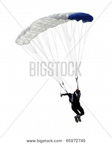 Parachutist Isolated