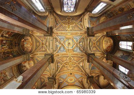 Santa Maria Dell'anima Church In Rome