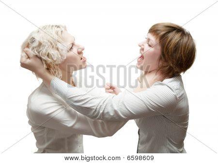 Womans In Quarrel