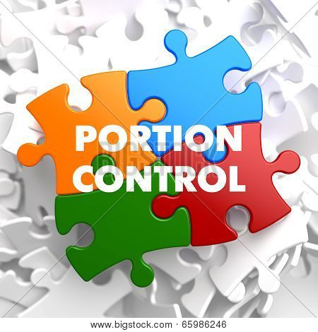 Portion Control on Multicolor Puzzle.