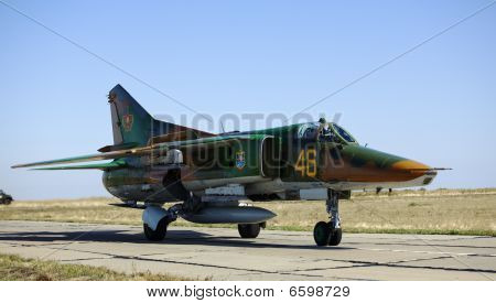 The Military Russian Plane A Fighter