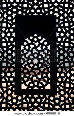 Moghul Thomb Window Pattern