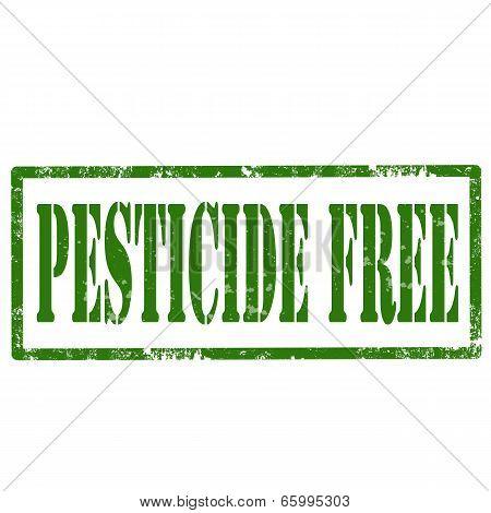 Pesticide Free-stamp