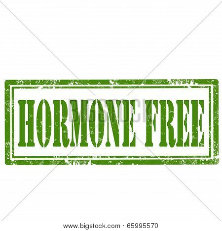 Hormone Free-stamp