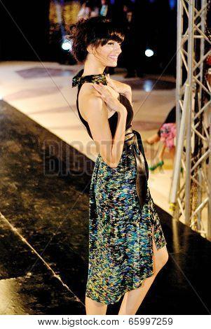Fashion Show For Dina El Kei Model 09