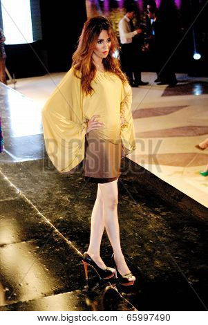 Fashion Show For Dina El Kei Model 10