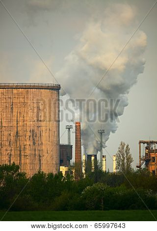 Old industrial plants