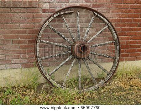 Old wood Wheel