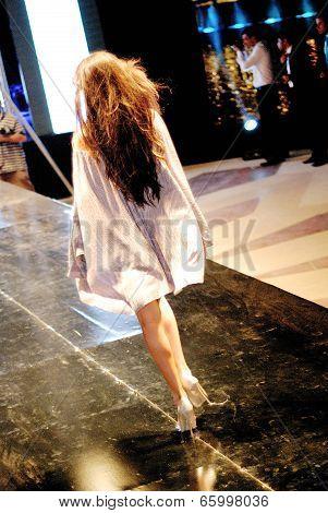 Fashion Show For Dina El Kei Model 13 (back)