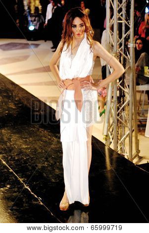 Fashion Show For Dina El Kei Model 22