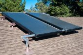 image of convection  - Residential rooftop solar hot water heating system - JPG