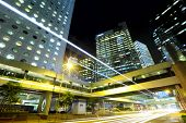 stock photo of hong kong bridge  - Traffic in Hong Kong - JPG