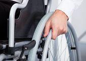 pic of wheelchair  - Close - JPG